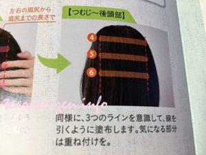 マイナチュレ育毛剤 使い方3