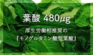 ノコア葉酸サプリ5